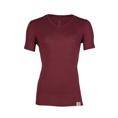 RJ Bodywear Good Life Men V Shirt Red