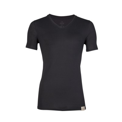 RJ Bodywear Good Life Men V Shirt Black