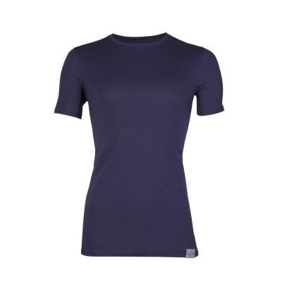 RJ Bodywear Good Life T Shirt Round Neck Blue