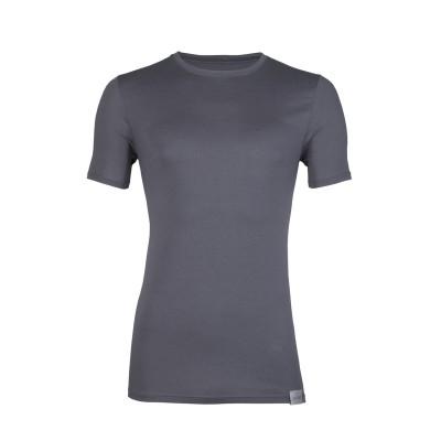 RJ Bodywear Good Life T Shirt Round Neck Grey