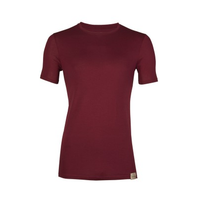 RJ Bodywear Good Life T Shirt Round Neck Red