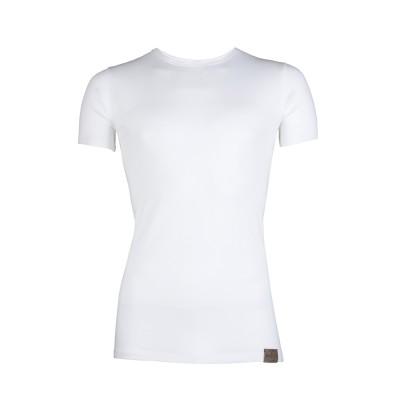 RJ Bodywear Good Life T Shirt Round Neck White