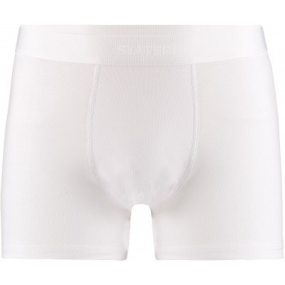 Slater Bamboo Boxer Shorts two pack White