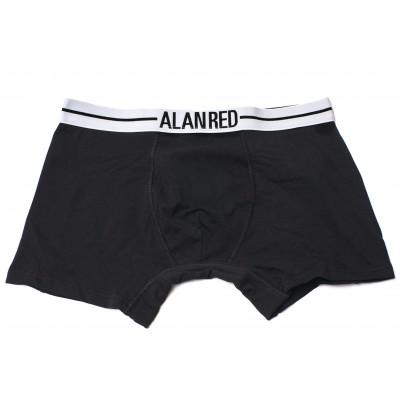 Alan Red Underwear Lasting Boxer 1 pack Black
