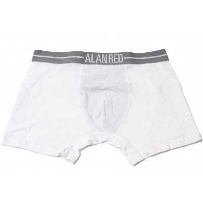 Alan Red Underwear Boxershort Lasting WhiteTwo Pack