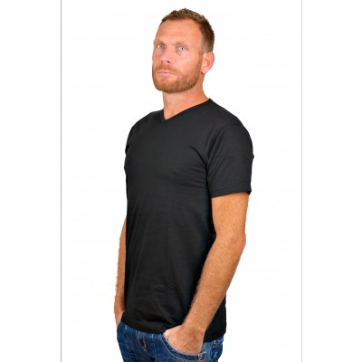 Alan Red T Shirt Vermont Black Two Pack