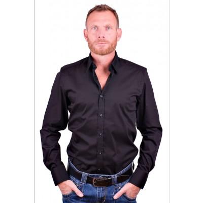 Antony Morato Zakelijk overhemd Zwart