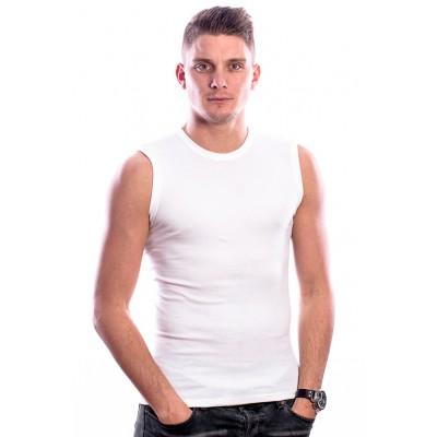 Beeren Bodywear Sleeveless Shirt Round Neck White 3 pack