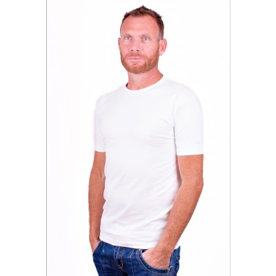 Alan Red T Shirt Ottawa White Two pack stretch