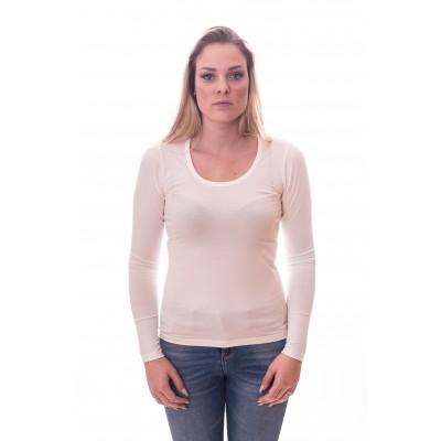 Alan Red Women T-shirt Laura Off-White ( art 2107)