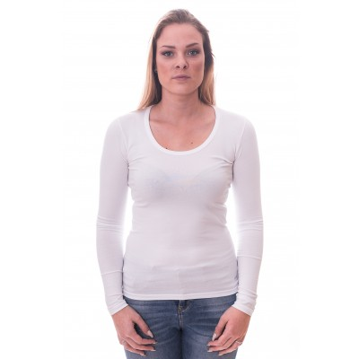 Alan Red Women T-shirt Laura White ( art 2107)