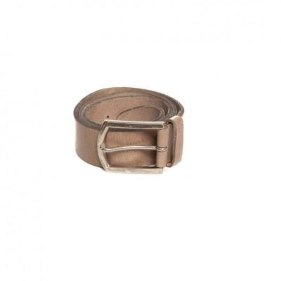 Petrol Leather Jeans Belt Grey ( 40871)