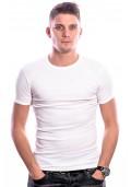 Beeren Men T-Shirt Ronde Hals Wit ( 3 Pack)