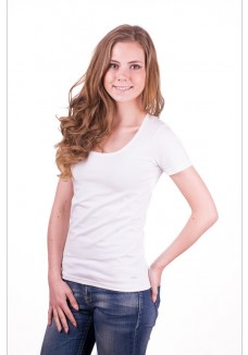 Alan Red Cindy T-Shirt White