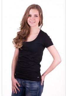 Alan Red Cindy T-Shirt Black
