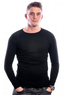 Beeren Men T-Shirt Lange Mouw Zwart ( 3 pack)