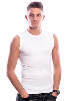 Beeren Bodywear Mouwloos Shirt Ronde hals Wit ( 3 Pack)