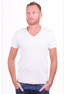 Cars Jeans t-shirt Basic White
