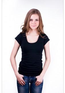 Claesen's Women T-Shirt Round neck s/s Black