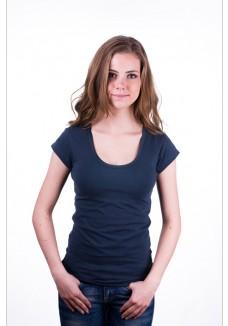 Claesen's Women T-Shirt Round neck s/s Navy