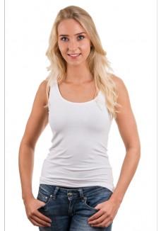 Garage Women Singlet Bodyfit White