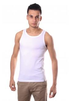Schiesser Men Singlet Shirt White