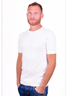 Alan Red T-Shirt Ottawa White ( two pack) ( stretch )