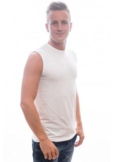 Slater T-Shirt Sleeveless ( mouwloos) white