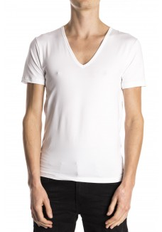 Mey t-shirt v-neck white