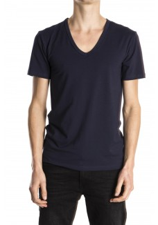 Mey t-shirt v-neck blue