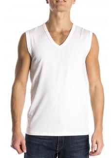 Mey Sleeveless shirt white