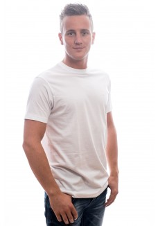 Slater T-Shirt Basic O-neck white EXTRA LONG