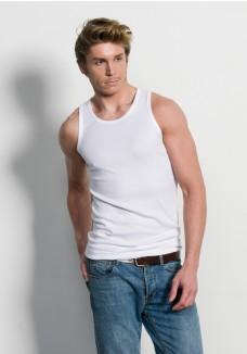 Slater Basic Singlet White