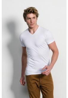 Slater T-Shirt v-neck white