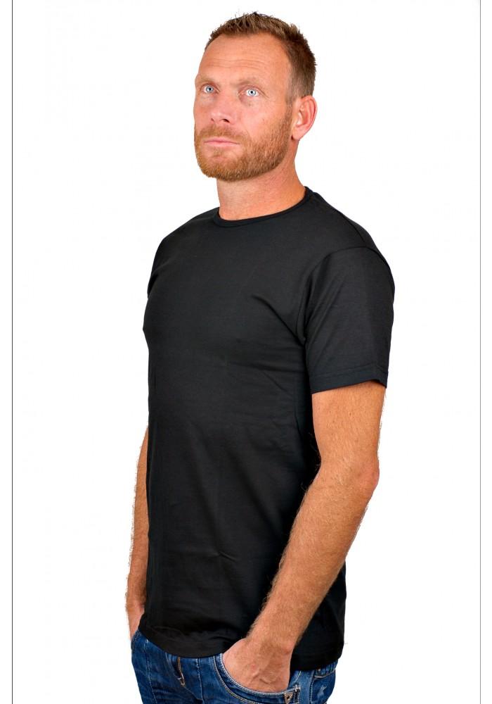 Alan Red T-Shirt Derby zwart