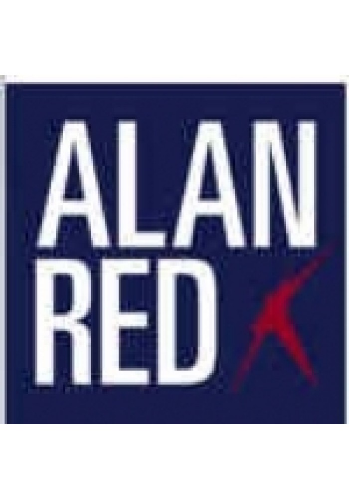 Alan Red Women T-shirt Romy Navy