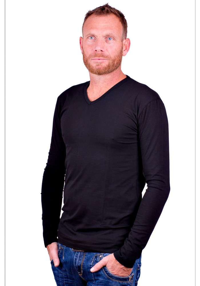 Alan Red t-shirt Model Oslo (Longsleeve)
