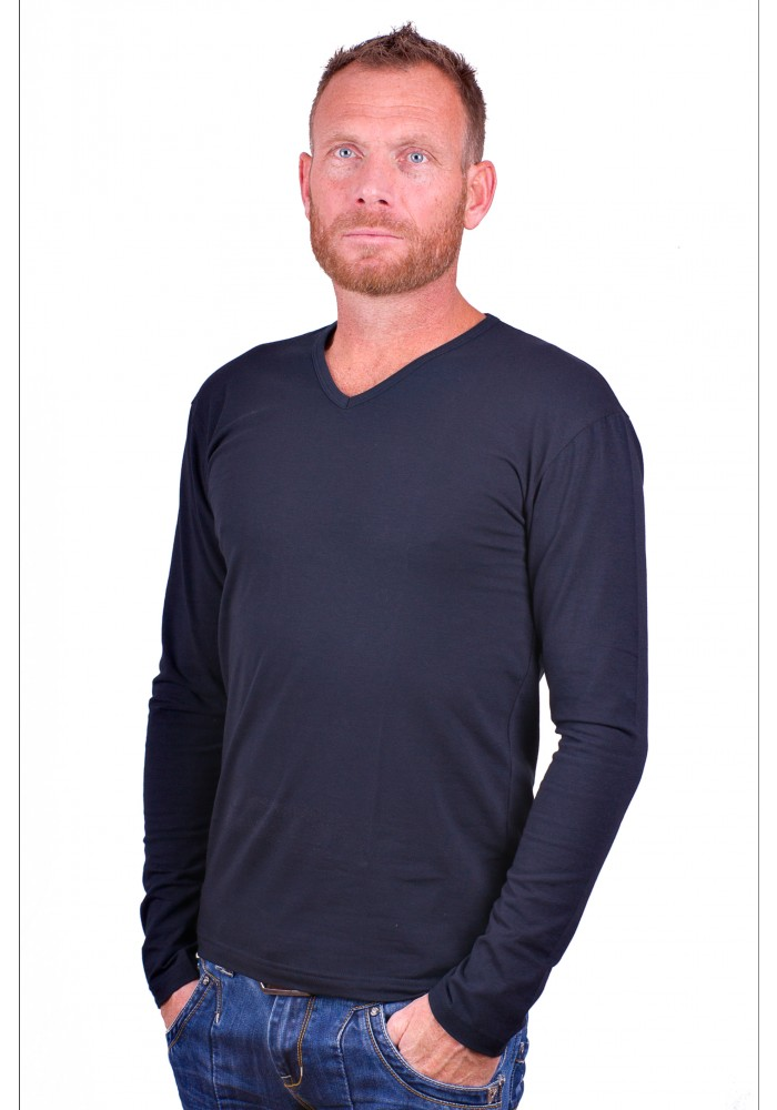 Alan Red t-shirt Model Oslo (Longsleeve)
