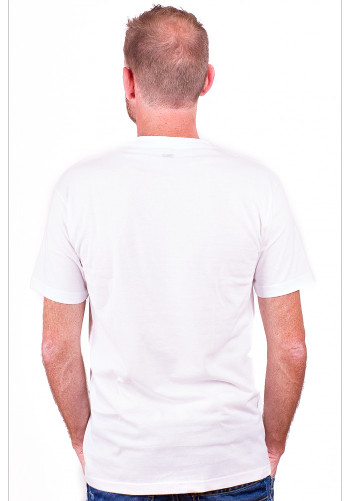 Alan Red T-Shirt Virginia White