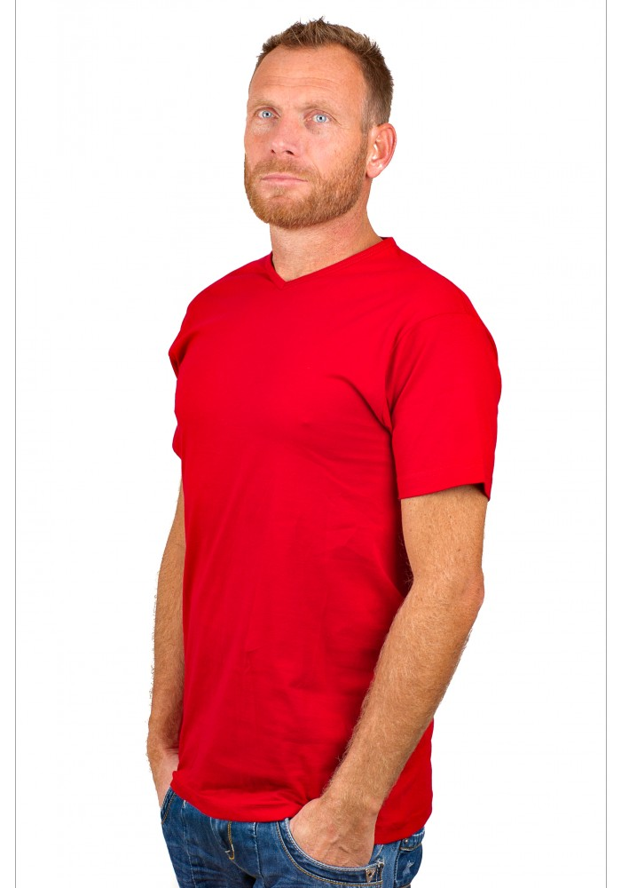 Alan Red T-Shirt Vermont