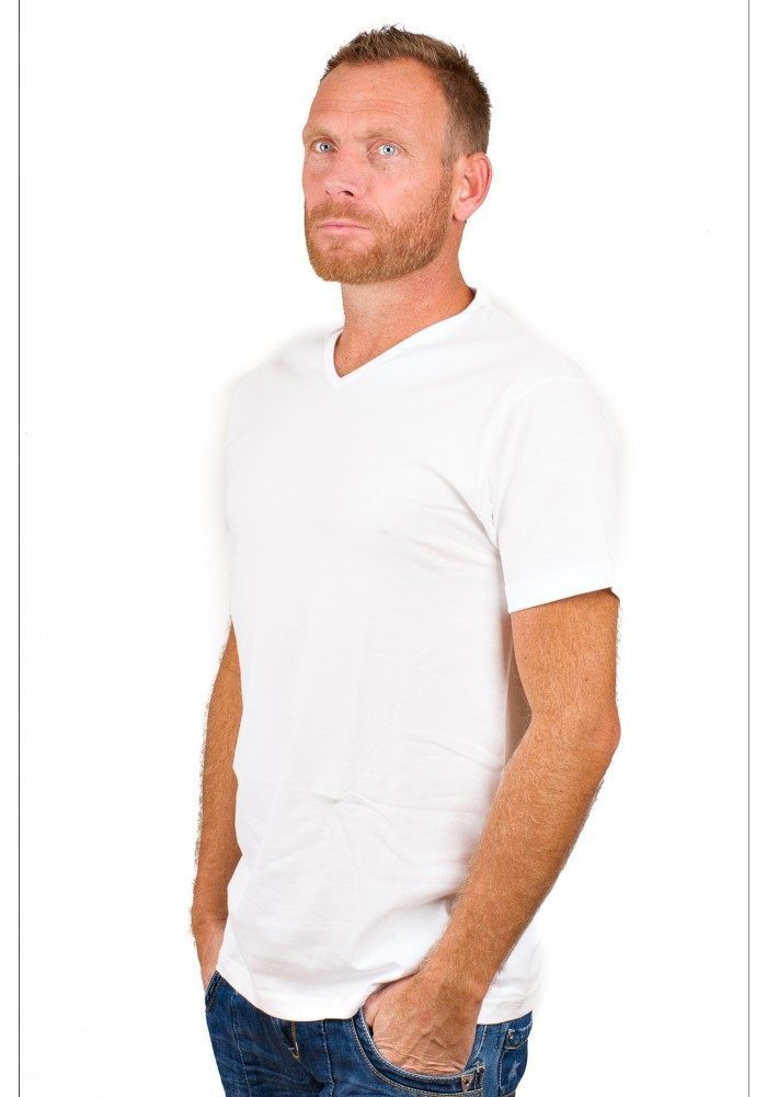 Alan Red T-Shirt Vermont White