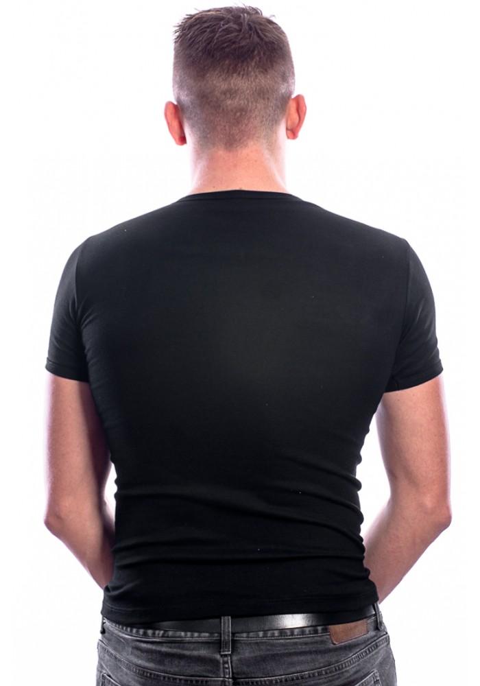 Beeren Men T-Shirt V-Hals Zwart ( 3 pack)