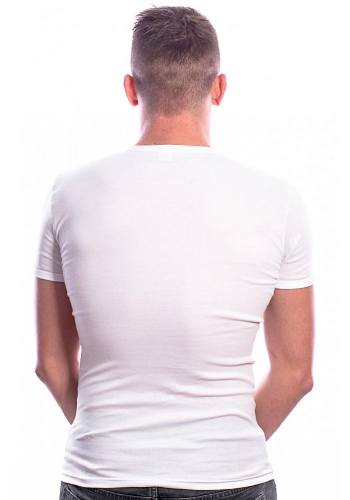 Beeren Men T-Shirt Ronde Hals Wit ( 3 Pack) Extra Lang