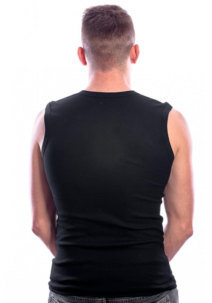 Beeren Bodywear Mouwloos Shirt Ronde hals zwart( 3 Pack)