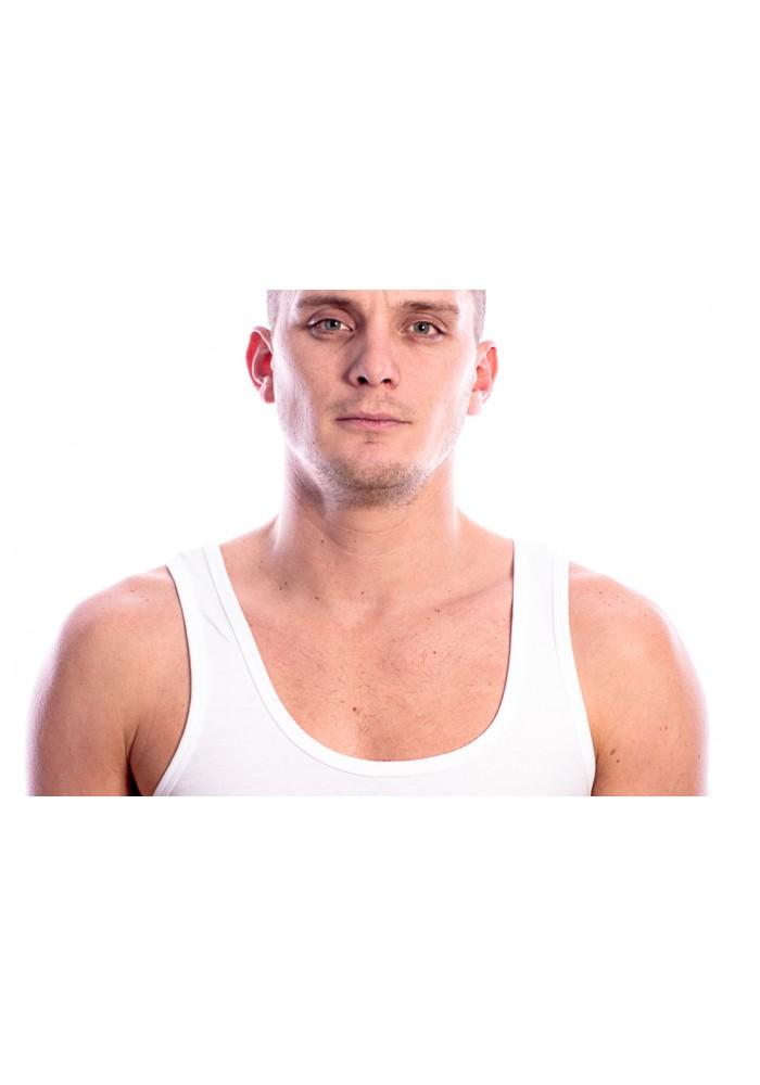 Beeren Bodywear Singlet White ( 3 pack)