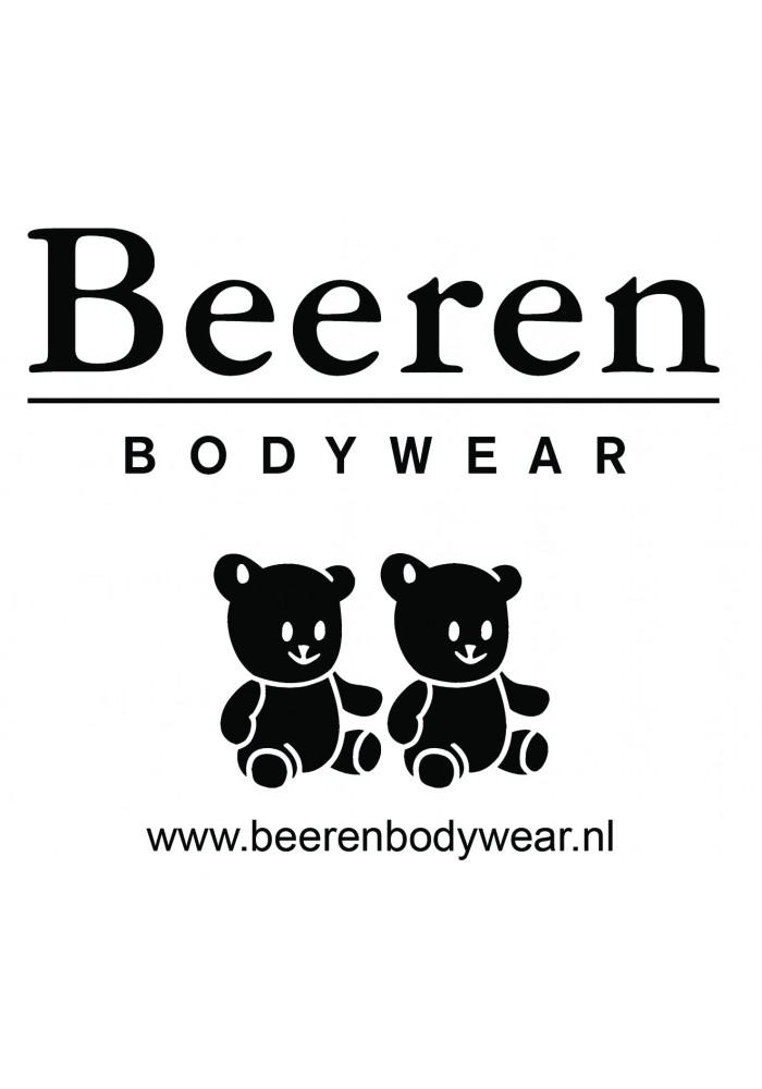 Beeren Men T-Shirt Ronde Hals Zwart ( 3 Pack) Extra Lang