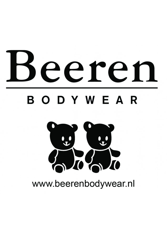 Beeren Bodywear Singlet Black ( 3 pack)