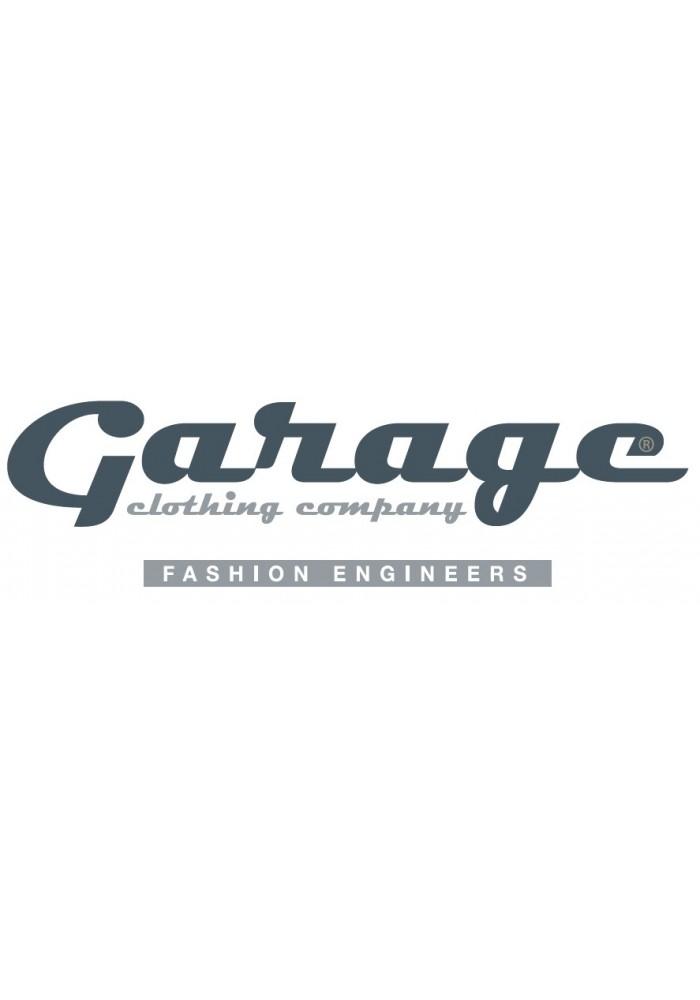 Garage T-Shirt Ladies V-Neck White