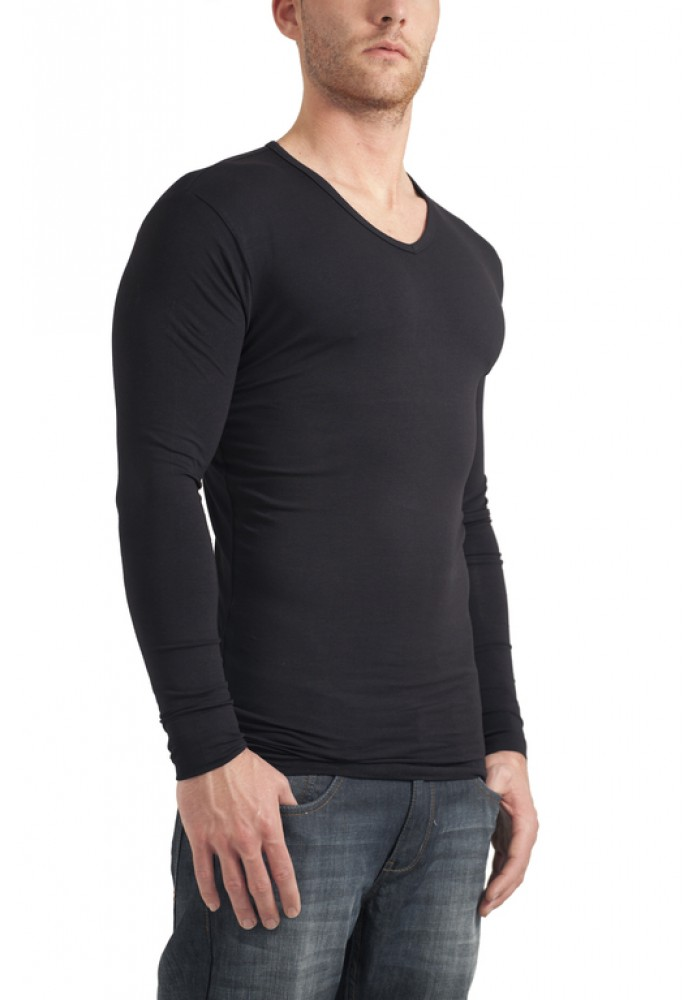 Garage V-Neck Longsleeve