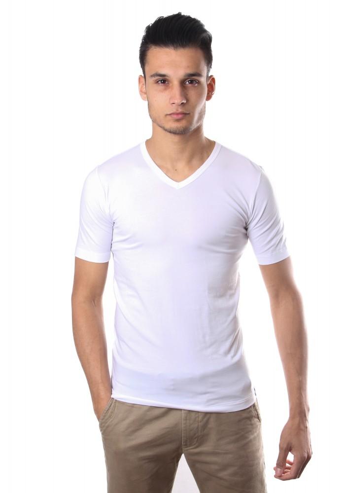 Schiesser Mannen T-Shirt V-Hals